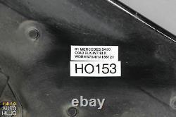 00-02 Mercedes W220 S500 S430 S55 AMG Hood Panel Assembly Black OEM