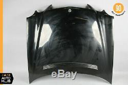 00-03 Mercedes W210 E320 E430 E55 AMG Hood Panel Assembly Black OEM