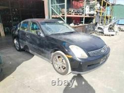 03-04 Infiniti G35 Sedan Hood Panel Black KH3 OEM F5100AL5MM