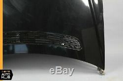 03-06 Mercedes W220 S500 S350 S55 AMG Hood Panel Assembly Black OEM