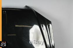 03-06 Mercedes W220 S600 S500 S55 AMG Hood Panel Assembly Black OEM