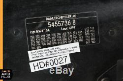 03-06 Mercedes W220 S600 S500 S55 AMG Hood Panel Assembly Obsidian Black OEM