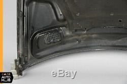 03-09 Mercedes W209 CLK320 CLK500 CLK63 AMG Hood Panel Assembly Black OEM