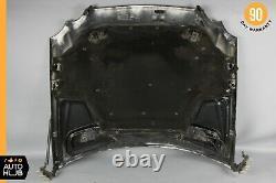 03-09 Mercedes W209 CLK320 CLK55 AMG CLK500 Hood Panel Assembly Black OEM