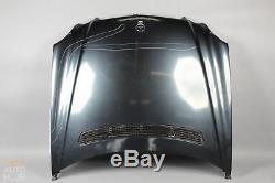 03-09 Mercedes W211 E320 E500 E55 AMG Hood Panel Assembly Opal Black OEM
