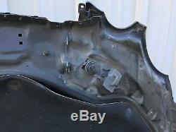 03-09 Mercedes W211 E350 E63 AMG E550 Hood Panel Assembly Black OEM