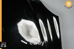 03-09 Mercedes W211 E500 E350 E55 AMG Hood Panel Assembly Black OEM