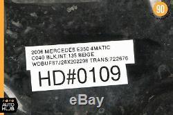 03-09 Mercedes W211 E500 E550 E55 AMG Hood Panel Assembly Black OEM