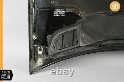 06-11 Mercedes W164 ML550 ML500 ML63 AMG Hood Panel Assembly Black OEM
