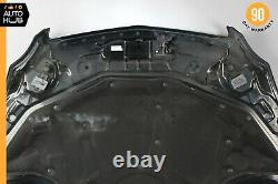 06-11 Mercedes W219 CLS500 CLS550 CLS55 AMG Hood Cover Panel Assembly Black OEM