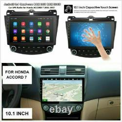 10.1 Android 9.1 Radio GPS 2GB+32GB Wifi A/C Dash Panel for Honda Accord 03-07