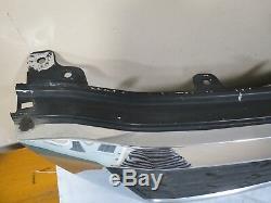 11-12 2011-2012 Kia Sedona Front UPPER Radiator Grille Grill Mesh Chrome OEM