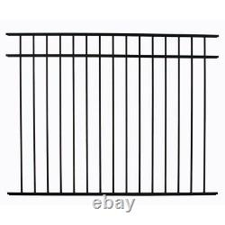 120 LINEAR FEET OF 54 HIGH GEORGIA STYLE POOL CODE ALUMINUM FENCE withPOSTS