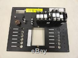 120 Volt 60 Ac Systems Blank Black Aluminum Circuit Breaker Panel V2223200 Boat