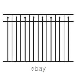 180' Of 54 High Carolina Style Pool Code Aluminum Fence With Posts & Caps