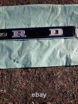 1967-1972 FORD F100 Tailgate Trim Panel
