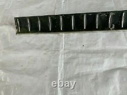 1968 Coronet RT 500 Trunk Trim Lid Rear Molding Tail Panel Aluminum Trim