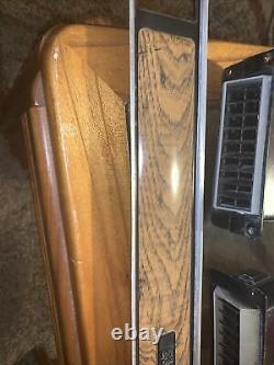 1973 -1980 Chevy Chevrolet Truck Silverado Woodgrain Dash Bezel Panel Insert