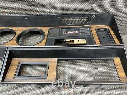 1981-1993 DODGE Ram D150 D250 INSTRUMENT CLUSTER DASH BEZEL TRIM PANEL CUMMINS