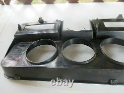 1981-1993 DODGE Ram D150 D250 INSTRUMENT CLUSTER DASH BEZEL TRIM PANEL WOODGRAIN