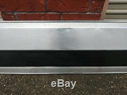 1987-1996 ford f-150 f-250 f-350 Tail gate aluminum trim panel black FREE SHIP