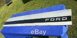 1987-96 OEM Ford F-150 F-250 F-350 Tailgate Trim Panel with Hardware FREE SHIPPING