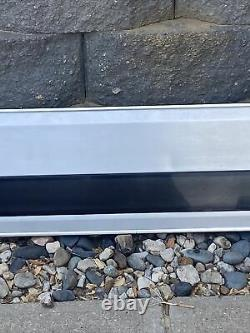 1992-1996 Ford Tailgate Trim Panel Aluminum With Black Trim 1992-96 F150-F250