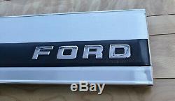 1992-1996 Ford truck F-150 F-250 F-350 Tailgate aluminum Finish Trim Panel OEM
