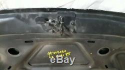 2000-2006 MK1 Audi TT Aluminum Hood Bonnet Panel Black Genuine Oem