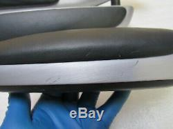 2001-2006 BMW E46 M3 M Convertible Door Panel Armrest Brushed Aluminum Set OEM