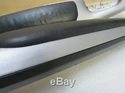2001-2006 BMW E46 M3 M Left & Right Door Panel Armrest Brushed Aluminum Pair OEM