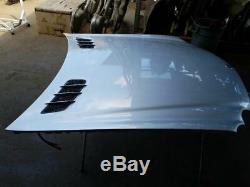 2004 Mercedes SL500 SL55 Hood Bonnet Panel Silver 2308800057