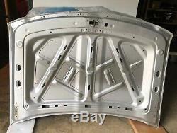 2014 2015 Chevy Silverado 1500 Hood Panel OEM Silver 23271756