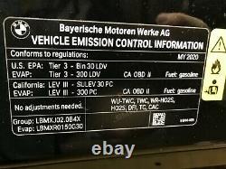 2019 2020 2021 2022 BMW 3 Series Sedan 330i Hood Bonnet Shell Panel OEM 19 Black