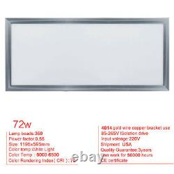 24x24 LED Ceiling Panel Light Recessed Flat Panel Down Light 36W 48W 72W Home