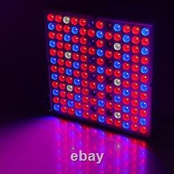 2Pcs 8000W LED Grow Lights Full Spectrum Hydroponic For Flower Plant Lamp Panel