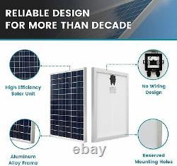 3000CFM Solar Attic Fan +38Wh/12V Lithium Battery w 50W Solar Panel Starter Kit