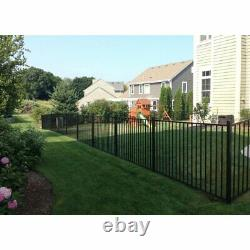 4 x 7 Aluminum Privacy Screen Fence Panel Outdoor Fencing Garden Yard Lawn