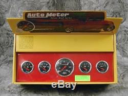 40 41 42 43 44 45 46 47 Ford Truck Aluminum Panel with Designer Black Gauges