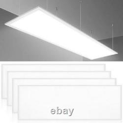 4Pack 2x4FT LED Panel Light 72W 6500K Daylight Recessed Flush/Drop Ceiling Light