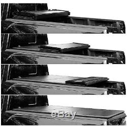 5.5'/67.1 Hard Quad-Fold Truck Bed For 2015-2020 Ford F-150 Tonneau Cover