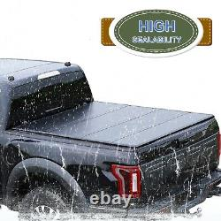 5.5'/67.1 Hard Quad-Fold Truck Bed For 2015-2021 Ford F-150 Tonneau Cover