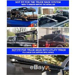 5.5' Hard Quad-Fold Truck Bed For 2004-2014 F150 2006-2014 Mark LT Tonneau Cover