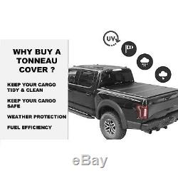 5'/58.6-59.5 Hard Tri-Fold Tonneau Cover For 2005-2016 Nissan Frontier Pickup