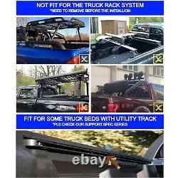 5'/60.5 Hard Tri-Fold Truck Bed Fit For 2016-2021 Toyota Tacoma Tonneau Cover