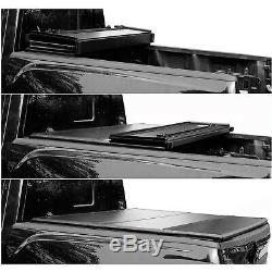 5'/60.5 Hard Tri-Fold Truck Bed For 2016-2020 Toyota Tacoma Tonneau Cover