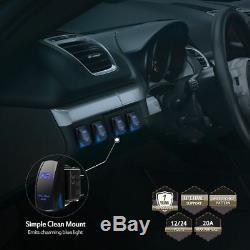 50 Curved LED Spot Flood Light Bar withRocker Wiring Kit Fit Jeep Wrangler JK TJ