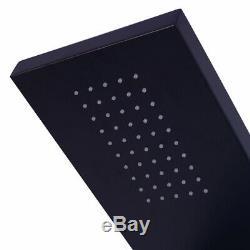 52 Modern Rainfall Shower Panel Jets Black Rain Body Massage