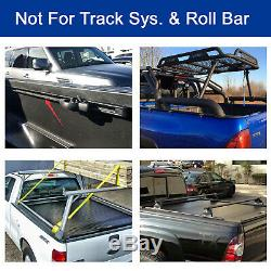 6.5'/78.8-78.9 Hard Tri Fold Truck Bed For 2015-2020 Ford F-150 Tonneau Cover