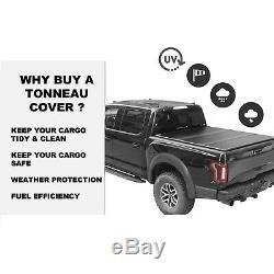 6.5'/78 Hard Tri-Fold Truck Bed Tonneau Cover For 1997-2004 Dodge Dakota